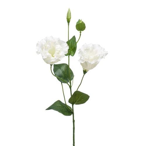 荷蘭Emerald人造花藝洋桔梗(奶油白)