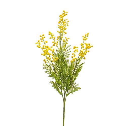 荷蘭Emerald人造花藝 含羞草(黃、68公分)