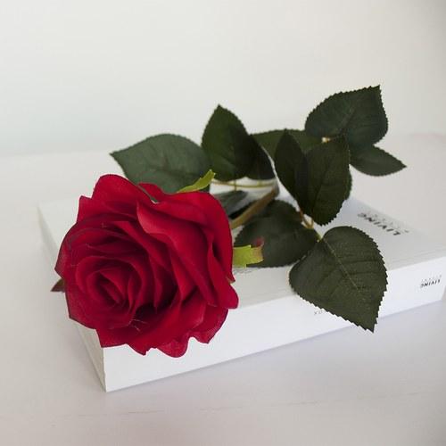 荷蘭Emerald人造花藝 Simone玫瑰花(紅)