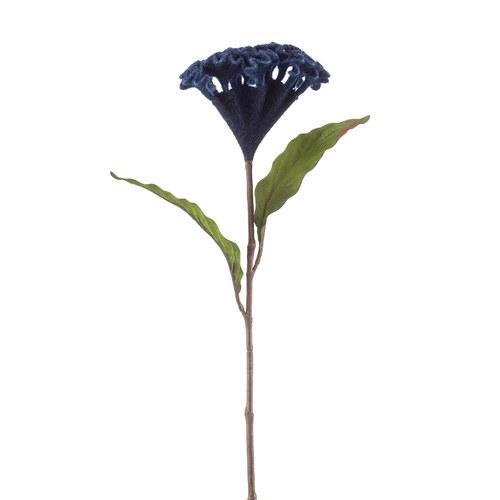 荷蘭Emerald人造花藝 雞冠花(藍)