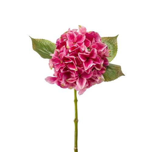 荷蘭Emerald人造花藝 嫣紅色繡球花 (47公分)