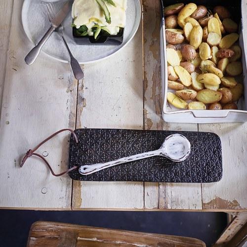 荷蘭HkLiving 樸質陶瓷分食勺