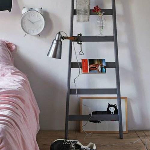 荷蘭HkLiving 復古灰色靠牆梯