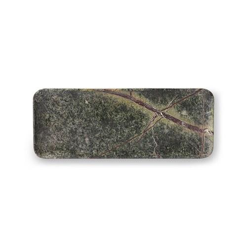 荷蘭HkLiving 嫩彩雲霧大理石托盤(綠)