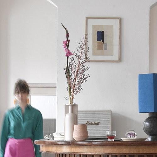 荷蘭HkLiving 抽象藝術松木掛畫