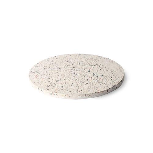 荷蘭HkLiving 漾彩水磨石托盤(直徑20公分)