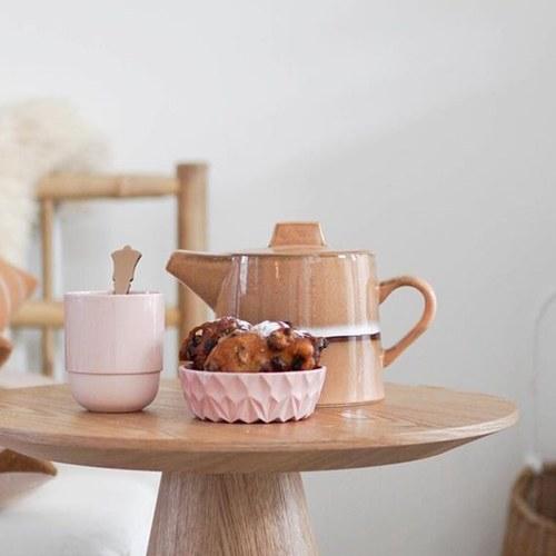 荷蘭 HkLiving 70年代寫意復古茶壺 (棕)