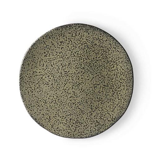 荷蘭 HkLiving 噴墨藝術餐盤2入組 (綠、小)