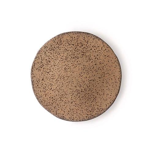 荷蘭 HkLiving 噴墨藝術餐盤2入組 (棕、小)