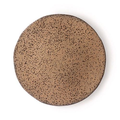 荷蘭 HkLiving 噴墨藝術餐盤2入組 (棕、大)