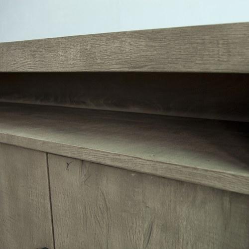 荷蘭PURE 雙門實木邊櫃