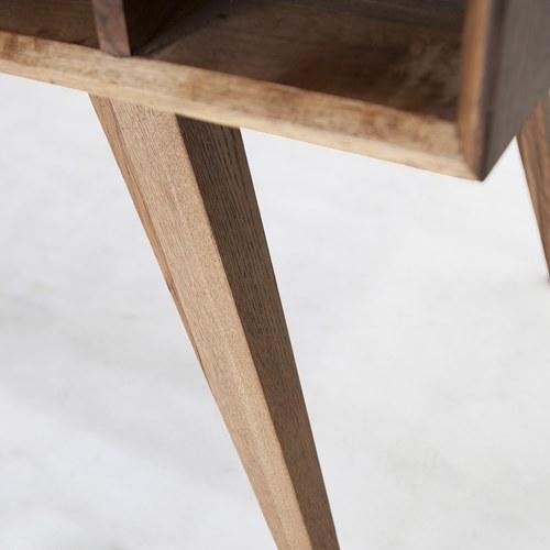 荷蘭PURE 多格簡約橡木餐桌 (棕、長180公分)