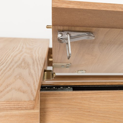 荷蘭Zuiver簡約木作延伸餐桌(梣木、長120公分)