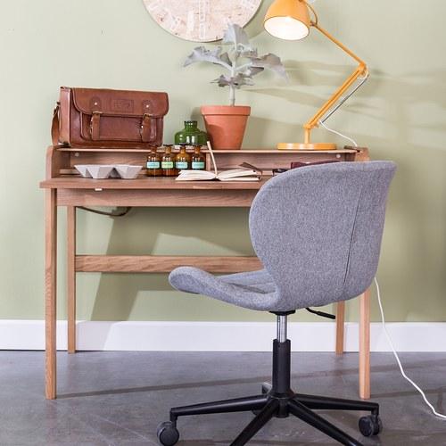 荷蘭Zuiver木質活動式收納書桌