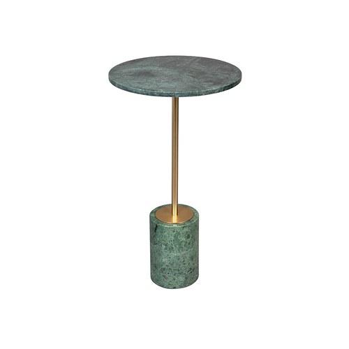 荷蘭Zuiver奢華圓形大理石邊桌(綠)