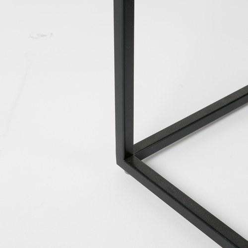 荷蘭Zuiver方形白色大理石邊桌(長32公分)