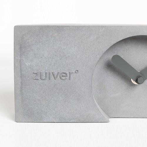 荷蘭Zuiver極簡長方形水泥時鐘