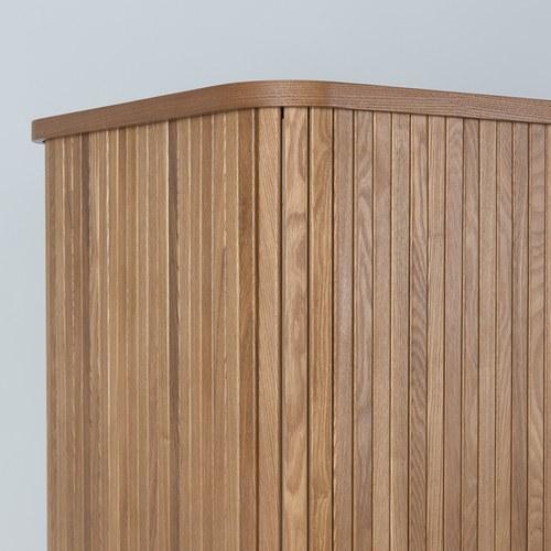 荷蘭Zuiver木質拉門收納高櫃