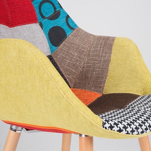 荷蘭Zuiver 花布拼接扶手椅