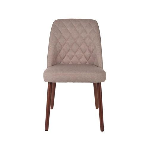 荷蘭Zuiver 簡約菱格紋單椅(米)