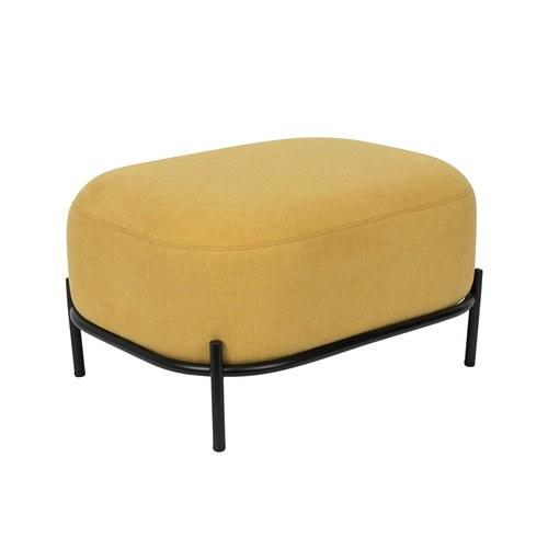 荷蘭Zuiver 泡芙軟墊休閒腳凳(黃)