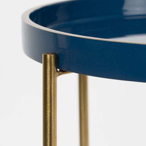 荷蘭Zuiver  琺瑯瓷托盤造型茶几