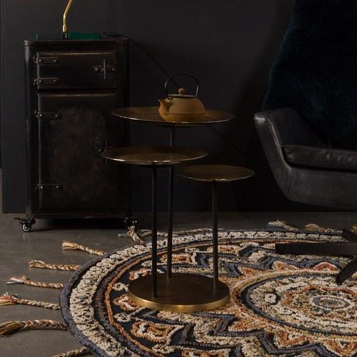 荷蘭Zuiver 神奇的轉盤子技法趣味茶几