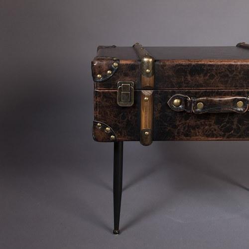 荷蘭Zuiver 帶我走-復古行李箱造型邊桌