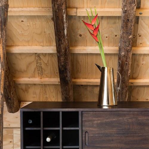 荷蘭Zuiver 多格抽屜收納木質邊櫃