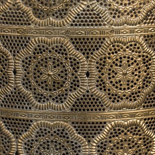 荷蘭Zuiver 刺繡綢布隱約質感花架(高53公分)