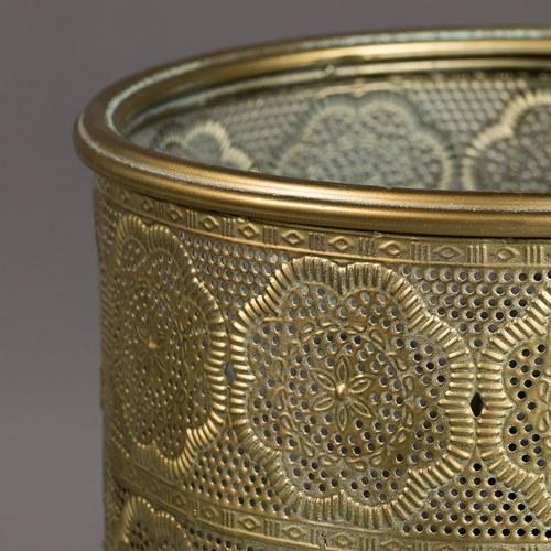 荷蘭Zuiver 刺繡綢布隱約質感花架(高45公分)