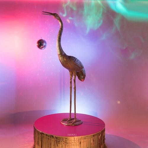荷蘭Zuiver 全球限量 矗立於林間的禽鳥之王雕塑品