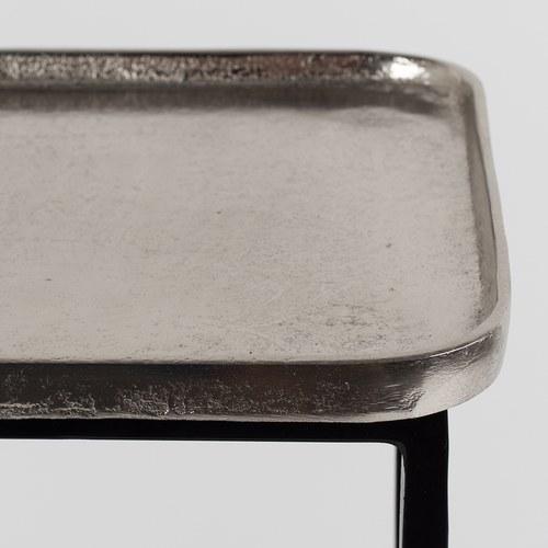荷蘭Zuiver 金屬手作托盤推車邊桌