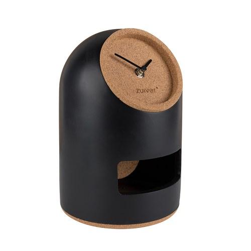 荷蘭Zuiver 廣場小屋開口造型時鐘(黑)
