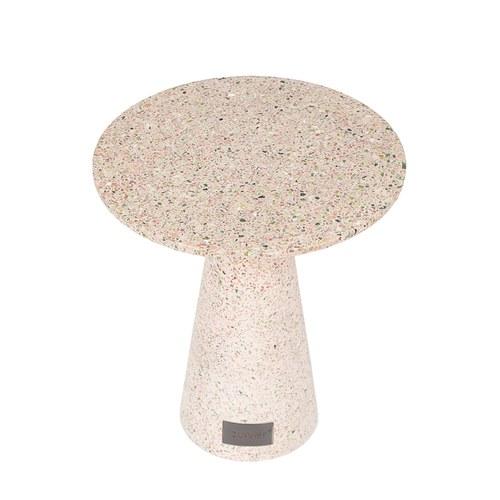 荷蘭Zuiver 原野上的碎花水磨石邊桌