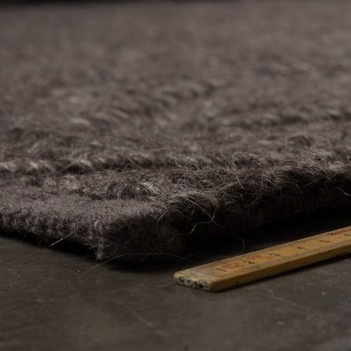 荷蘭Zuiver 柔軟厚織毛呢地毯(深灰)