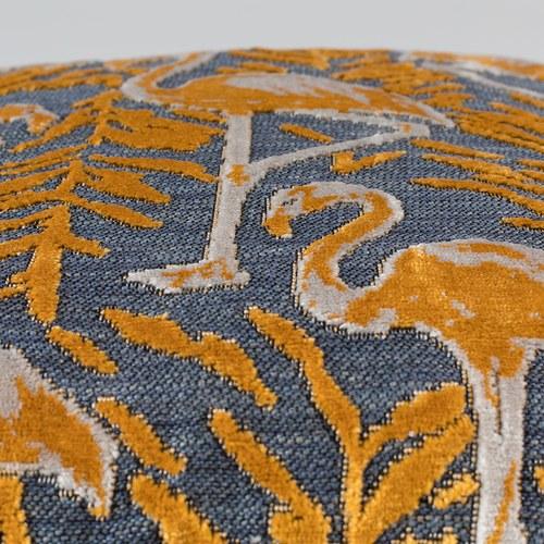 荷蘭Zuiver 橙黃夕陽下的紅鶴抱枕
