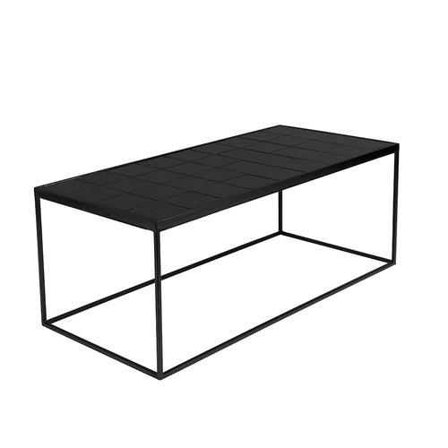 荷蘭Zuiver 拼接磁磚水平面咖啡桌 (黑)