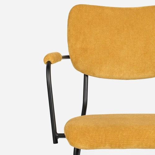 荷蘭Zuiver 節慶色彩派對扶手椅 (黃)