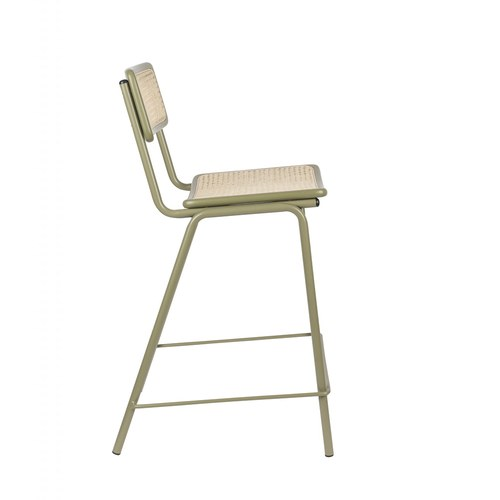 荷蘭Zuiver 霍爾特藤編中島椅 (綠)