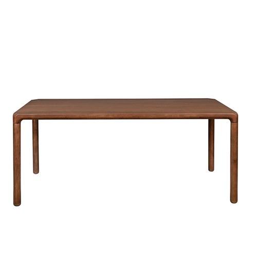 荷蘭Zuiver 倒角設計餐桌(胡桃木、長180公分)