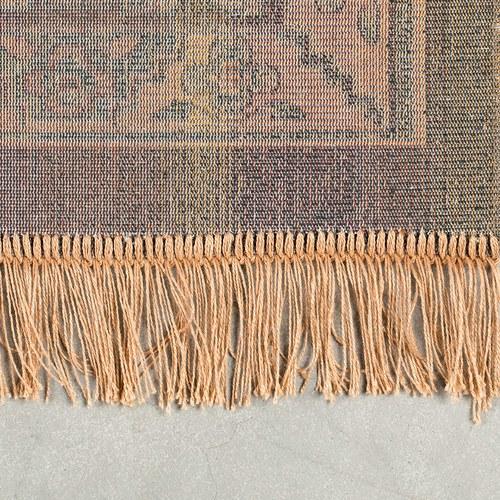 荷蘭Zuiver 神話符碼藝術地毯 (棕、300公分)