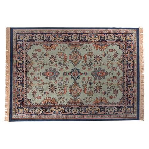 荷蘭Zuiver 神話符碼藝術地毯 (綠、300公分)
