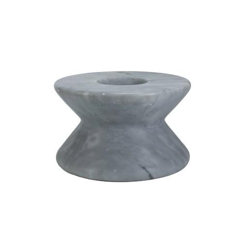 泰國DesignersField 灰色沙漏型燭台