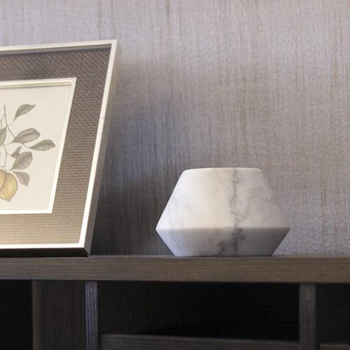 泰國DesignersField 白色大理石燭台