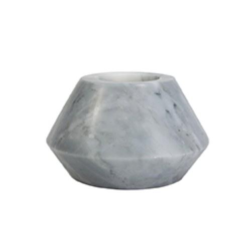 泰國DesignersField 淺灰色大理石燭台