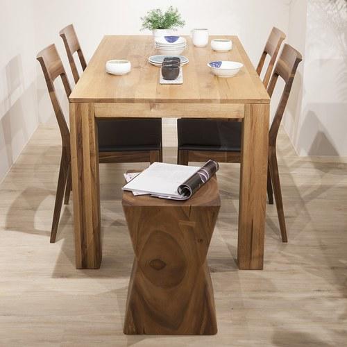 泰國MoonlerCollection 實木沙漏型椅凳
