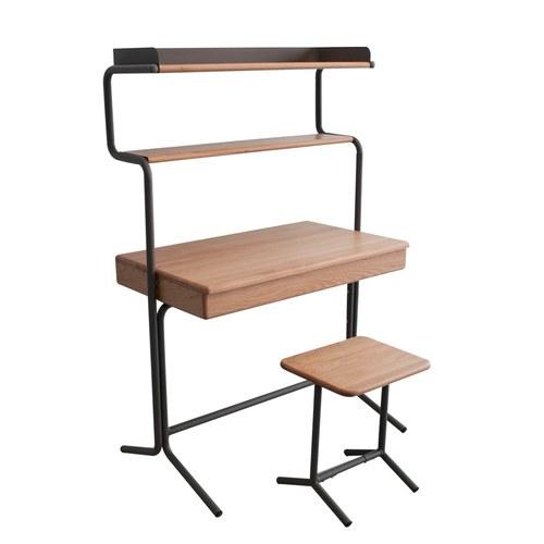 泰國OKWood 簡約風橡木電腦桌