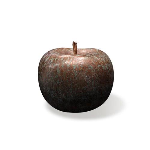 德國BULL&STEIN 青銅系列蘋果雕塑 (直徑20公分)