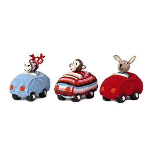 荷蘭ACP 袋鼠開車玩偶
